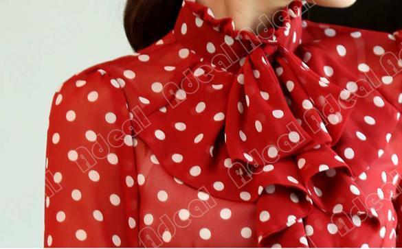 Купить Блузку В Горошек
