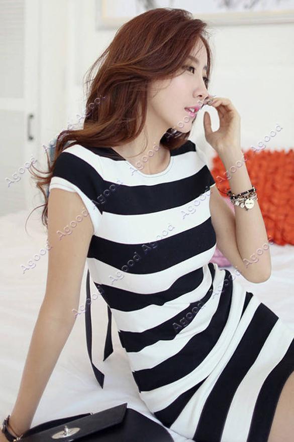 Платье Полосатое С Доставкой